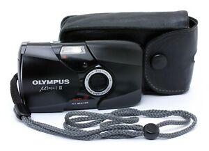 Olympus-II-mju-II-35mm-Kompaktkamera-mit-35mm-f-2-8-Objektiv-vom-Handler