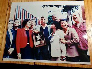 Gene-Roddenberry-Original-Star-Trek-Cast-Color-Photo-Dd