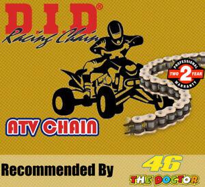 DID Gold & Black ATV2  Drive Chain 520 P 96 L for Yamaha Atv / Quads