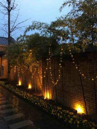 100 LED Solar Power String Lights Christmas Fairy String Garden Outdoor indoor D