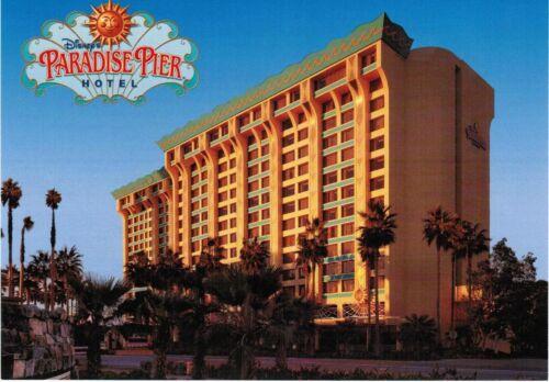 Disneyland Resort Paradise Pier Hotel Postcard 2012 Edition