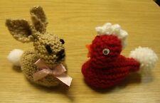 - Bunny Chick Easter Eggs ! Daffs crochet Hot X Buns Knitting Pattern