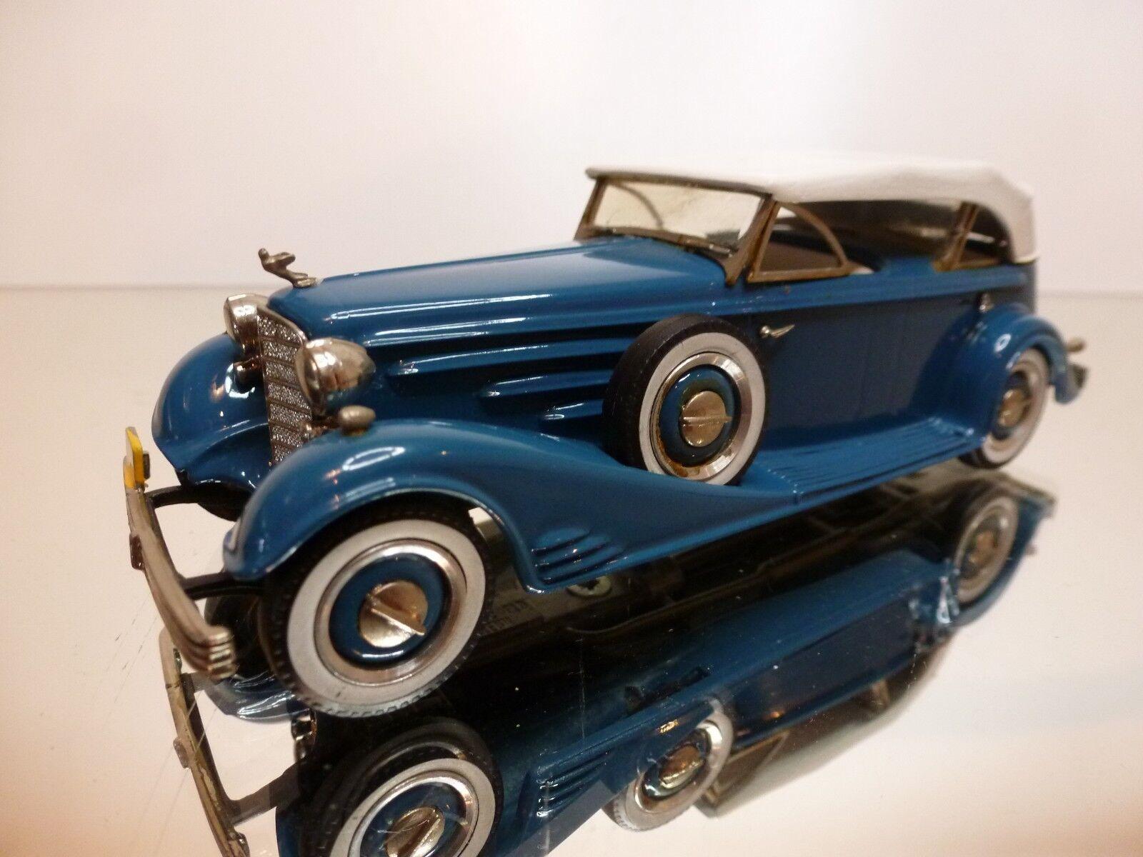 WESTERN MODELS CADILLAC V16 CONverdeIBLE VICTORIA 1933 - 1 43 - EXCELLENT - 7