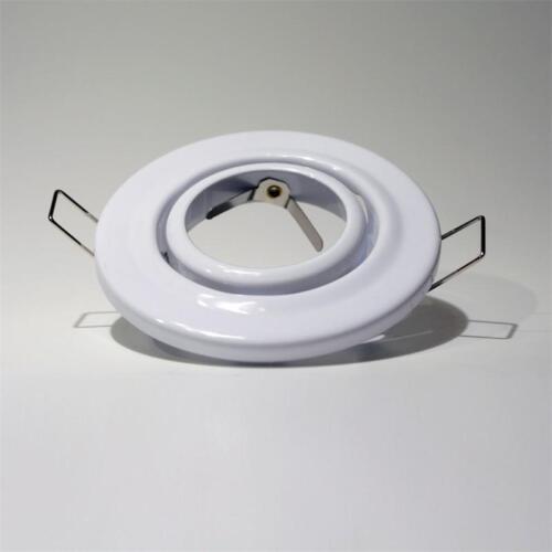 10x Decken Einbaustrahler MR16 GU5,3 weiß Einbauspots