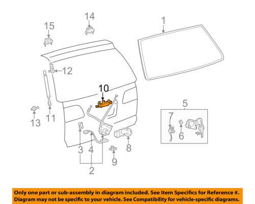 TOYOTA OEM Sienna Liftgate Tailgate Hatch-Handle Outside Exterior 690900C080
