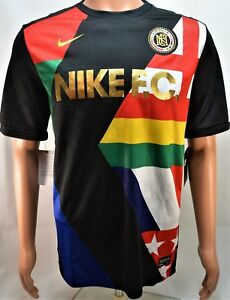 6767bd6c1bd Nike F.C. World Cup Printed Training Soccer Jersey Sz Large L NEW ...
