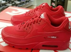 huge selection of f649c a0f47 Details about NIKE AIR MAX 90 ESSENTIAL MEN'S UNIVERSITY RED / WHITE AJ1285  602