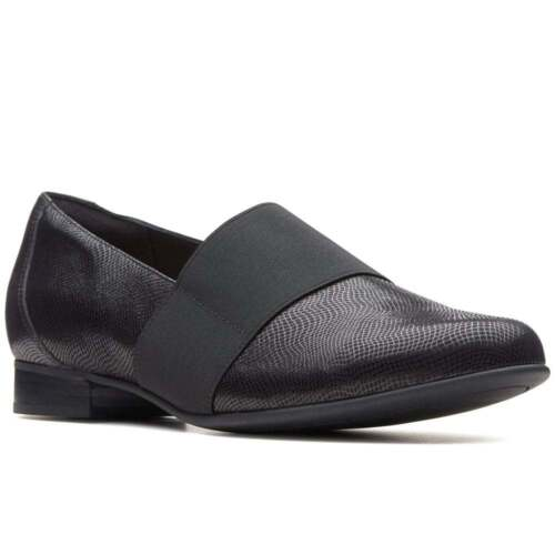zapatos E Clarks mujer Interest para Fitting Un Blush Leather Unstructured Lo Black BCgaqFCzx