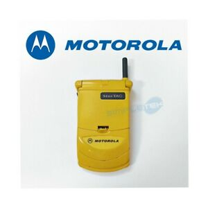 Phone-Mobile-Motorola-Startac-338-Yellow-Second-Hand-Perfect-Gsm-1996