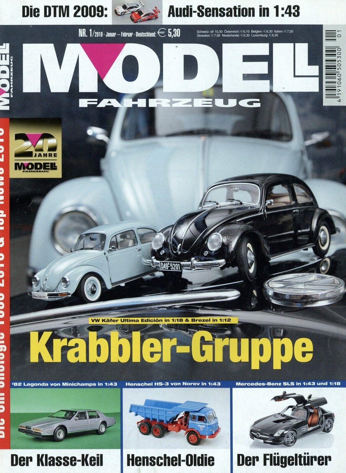 Revista modelo vehículo 1 2010 2010 2010 audi v8 DTM Citroën 2cv Fendt 9460r capitán  sin mínimo