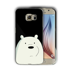 info for 5f22f c983d Details about We Bare Bears Samsung Galaxy S4 5 6 7 S8 Edge Note 3 4 5 8  Plus Case Cover 04