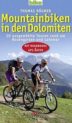 Prezzo Più Basso Con Mountain Nelle Dolomiti 20 Viaggi Con Roadbook Gps Dati Libro Consigliera-