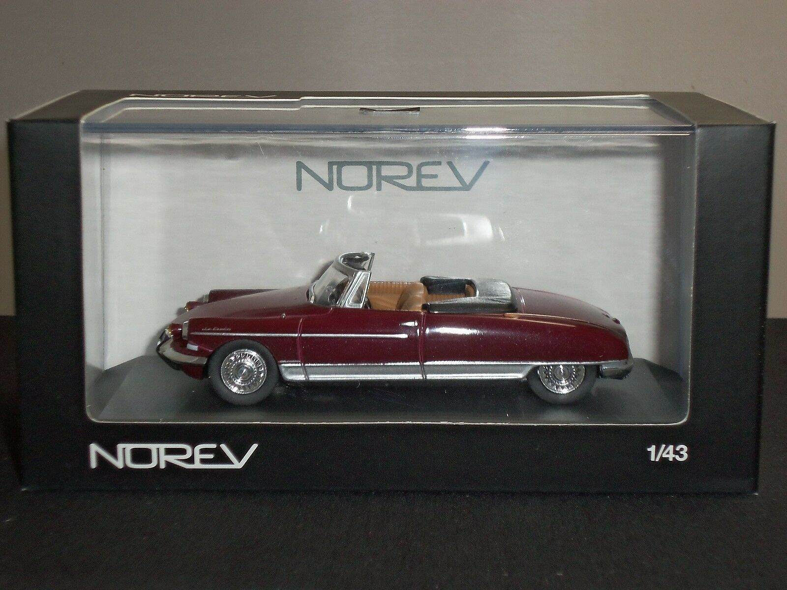 NOREV 157036 CITROEN ID 19 LE CADDY HENRI CHAPRON MAROON DIECAST MODEL CAR