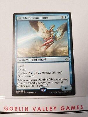 Nimble Obstructionist FOIL Hour of Devastation NM Blue Rare MTG CARD ABUGames