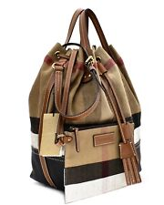 Burberry Brit Kingswood Canvas Check Duffel for sale online  573000c2dac67