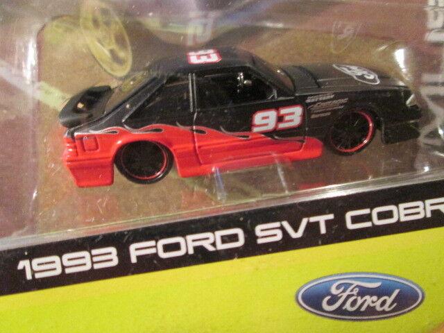 venta con descuento Maisto 1993 Ford Mustang Cobra Svt Escala 1 64 modelo modelo modelo de cuerpo Fox  Felices compras