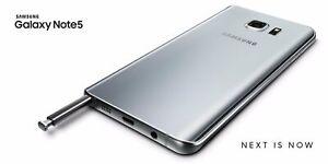 New-Samsung-Galaxy-Note-5-SM-N920A-AT-amp-T-Smartphone-Silver-Titan-32GB