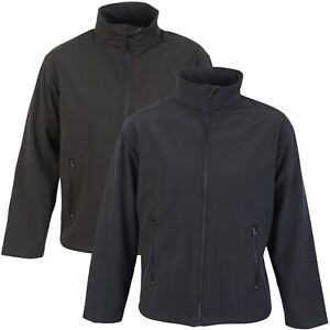 Mens-Soft-Shell-Jacket-Water-Repellent-Wind-Resistant-Outdoor-Walking-Hiking