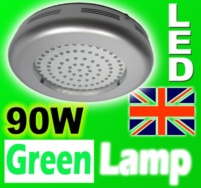 90W LED UFO Grow Panel Hydroponic Grow Lamp Light Board ALL blå VEGITATIVE