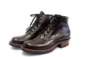 Whites Boots Men&amp--039-s 5&amp--039-&amp--039- Semi Dress Black Cherry ...