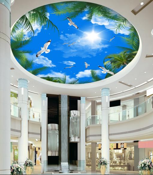 3D Birds Sky 407 Ceiling WallPaper Murals Murals Murals Wall Print Decal Deco AJ WALLPAPER AU 9cf457