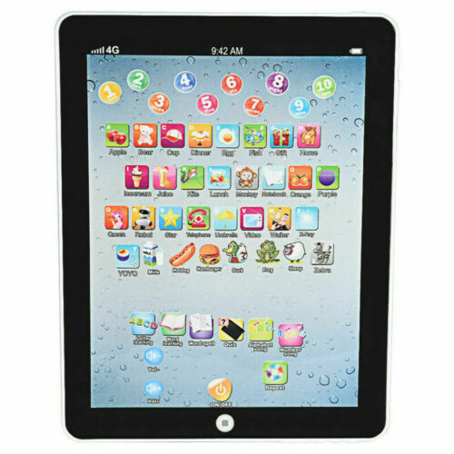 Baby Tablet Educational Toys Kids For 1-6 Years Toddler Learning English Gift UK