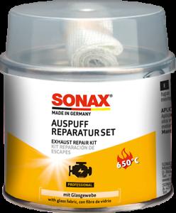 Auspuff-ReparaturSet-200ml-Asbestfrei-und-Extrem-Hitzebestaendig-SONAX-05531410