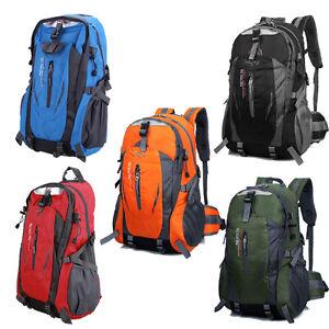 Outdoor-Wandern-Camping-Wasserdicht-Nylon-Reise-Gepaeck-Rucksack-Rucksack-Tasche