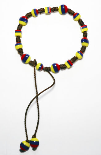 Typical Handmade Bracelet Made By Native Artisans Colombia Ecuador Venezuela