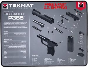 Diagrama-de-limpieza-para-pistola-SIG-P365-Impermeable-Resistente-al-Aceite-TekMat-Ribete-Cosido