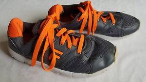 Fila Damen Freizeit Lauf Sport Jogging Schuhe Retro grau orange Gr. 38
