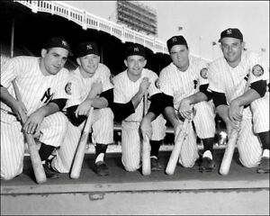 1952-New-York-Yankees-Photo-8X10-Mantle-Rookie-Berra-Bauer-Buy-Any-2-Get-1-FREE