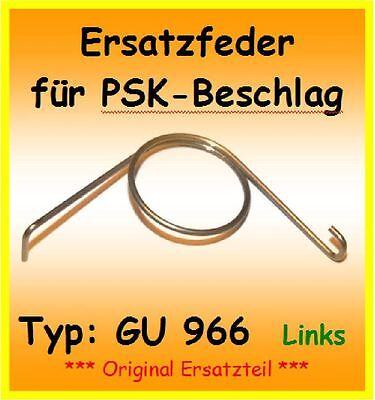 Schiebetür Siegenia PSK 200 Ersatzfeder Ersatzteil f DIN R Feder DIN Rechts