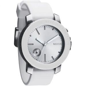 Nixon-The-Raider-Watch-Womens-White-Silver-A317179