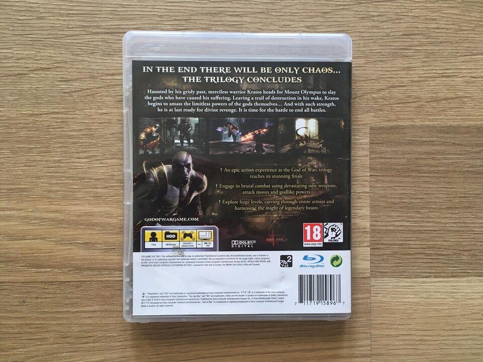 God Of War 3, PS3