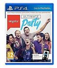 Singstar Ultimate Party Ps4 PlayStation 4 UK Postage