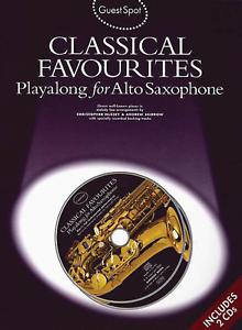 """Humble """"classical Favourites"""" Play-along Pour Saxophone Alto-music Book/cd-saxophone-neuf-vente!-one-new-sale! Fr-fr Afficher Le Titre D'origine RafraîChissant Et BéNéFique Pour Les Yeux"""