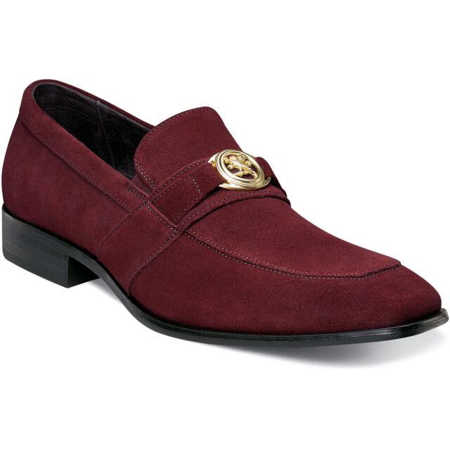 24d6142e7b8 Stacy Adams Men s Mandell Slip on Loafer Dress Casual Shoe Grey ...