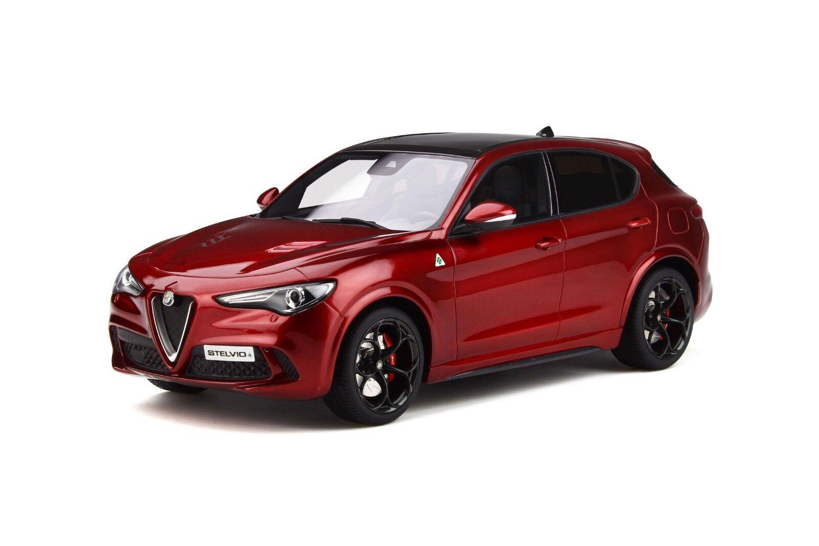 Alfa Romeo Stelvio Quadrifoglio  nuevo  Otto ot285  1 18