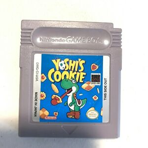 Yoshi-039-s-Cookie-Nintendo-Gameboy-Original-Game-Tested-Working-Authentic