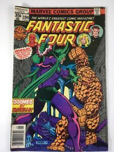 Fantastic-Four-194-May-1978-Marvel-Comics-George-Perez-Cover-FN-Star-Wars-Ads