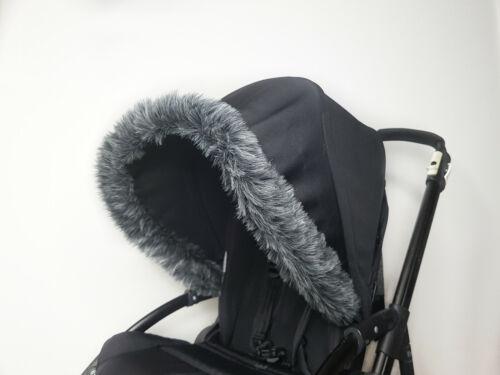 New Pram Furs Hood Trim Winter Kit Bugaboo Silver Cross Joie iCandy My Babiie