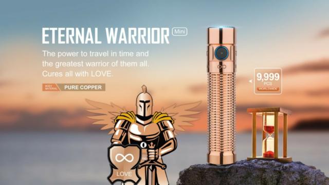 OLIGHT Warrior Mini Eternal 2 Copper CU *NEW* In-Hand/Ready to Ship