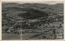 Roxbury In-The-Catskills NY * Birds Eye View  1947 * Delaware Co.