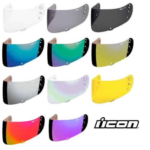 Icon Optics IC-04 Replacement Face Shield fit Icon Airmada /& Airframe Pro Helmet