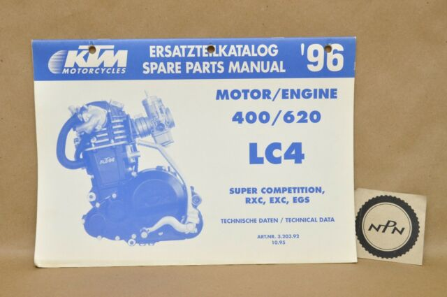 1996 Ktm 400 620 Lc4 Rxc Exc Egs Engine Motor Spare Parts
