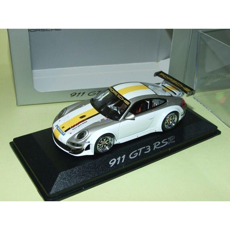 PORSCHE 911 GT3 RSR 997 Présentation MINICHAMPS 1 43
