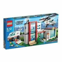 1 Lego Set 4429 City Helicopter Rescue Hospital Town Minifig