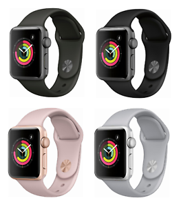 Apple Watch Series 3 38mm Gps Wifi All Colors Brand New Sealed Ebay