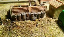 High detailed resin casting rusty metal bins By R&M suit OO gauge